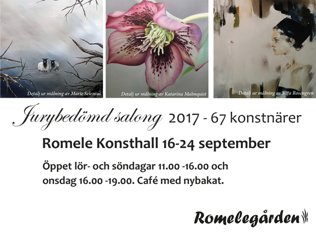 Art exhibition Romele Konsthall