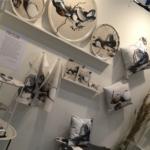 Art trays, cushions, kitchen towels by Frickum, konst, inredning, kudde, bricka, kökshandduk, nordic ,västkust