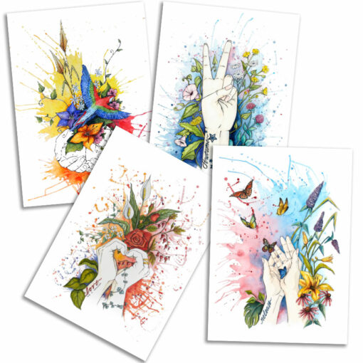 Art cards by Frickum