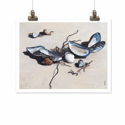 Art print På stranden (At the beach) by Frickum