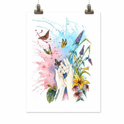 Art print Release by Frickum