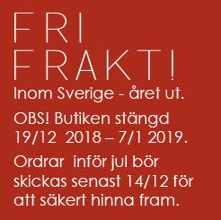 Fri frakt från Frickum inom Sverige dec18