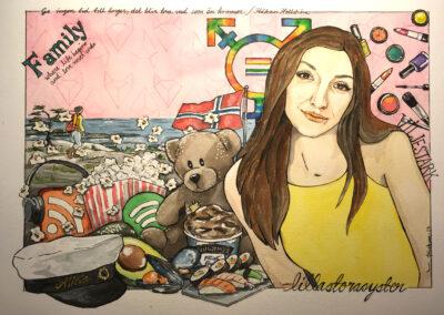 Collage av Frickum